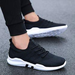 Caliente 2018 primavera ligero Zapatillas moda Otoño famosa marca de encaje estilo cómodo estilo Casual hombres calzado