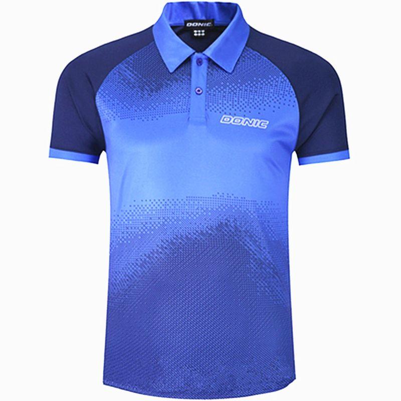 Donic Tennis Trikots trainings T-Shorts absorbieren schweiß komfort top qualität ping pong hemd tuch sportswear