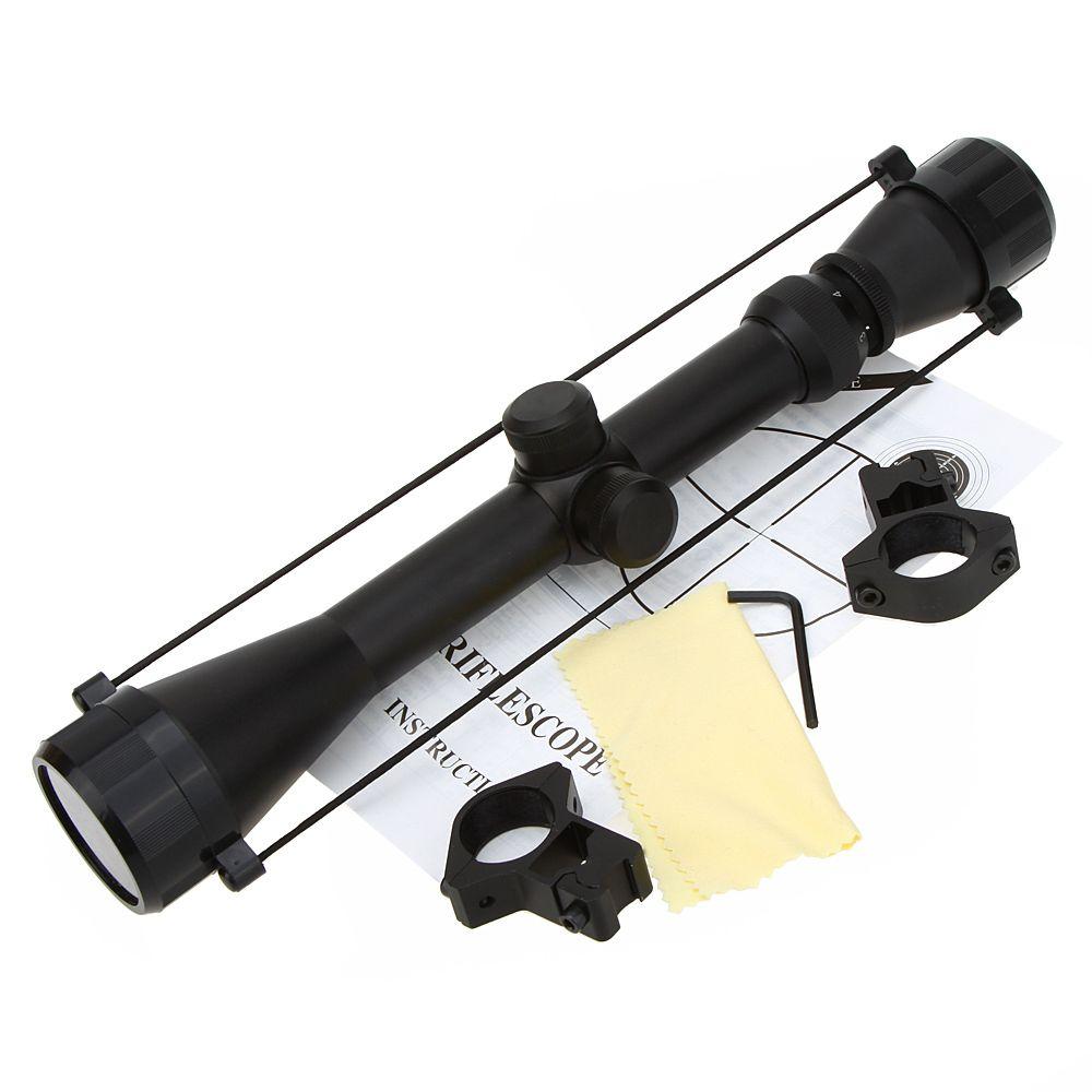 2016 haute qualité 3-9X40 réglable en plein air tactique Riflescope réticule Sight portée pour chasse