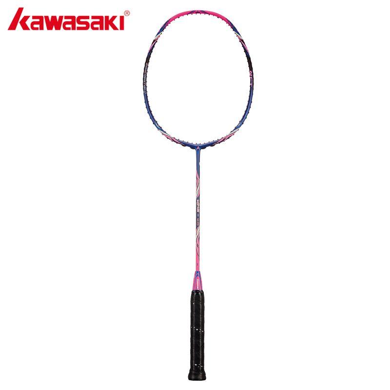 2018 Kawasaki Original Badminton Schläger König K8 Angriff Typ T Kopf Fulleren Carbon Faser Schläger Für Zwischen Spieler