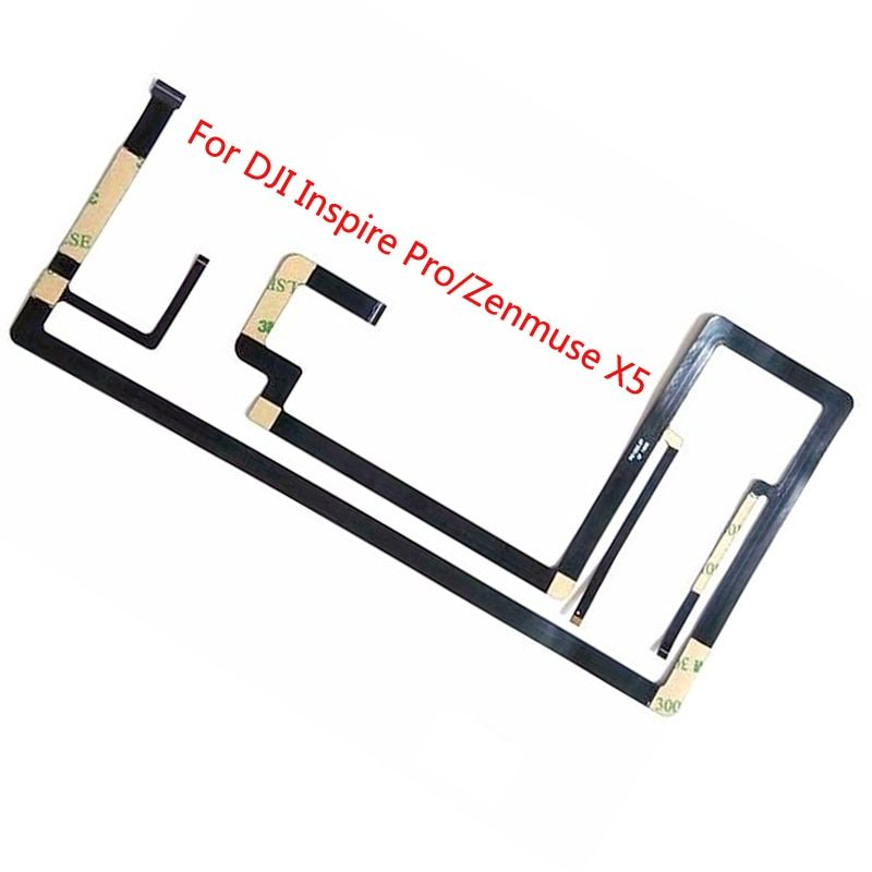 Flex Cable For DJI Inspire 1 Zenmuse X3 Flexible Gimbal Camera Ribbon Flat Cable Replacement Fit For DJI Inspire Pro Zenmuse X5