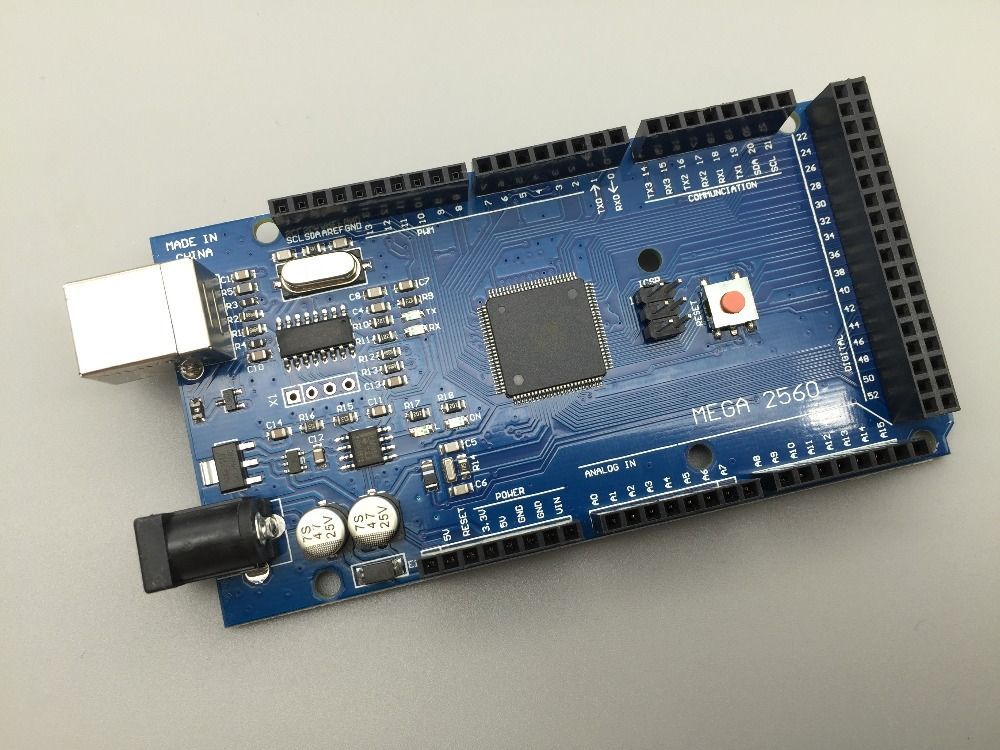5 UNIDS Mega 2560 R3 CH340G/ATmega2560-16AU, MicroUSB. Compatible para Arduino Mega 2560. con el Gestor de Arranque