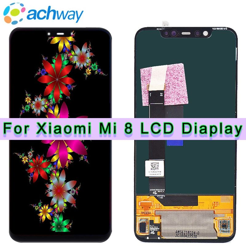 Amoled Screen Xiaomi Mi 8 LCD MI 8 Explorer Display Digitizer Assembly Touch Screen Replacement 6.21