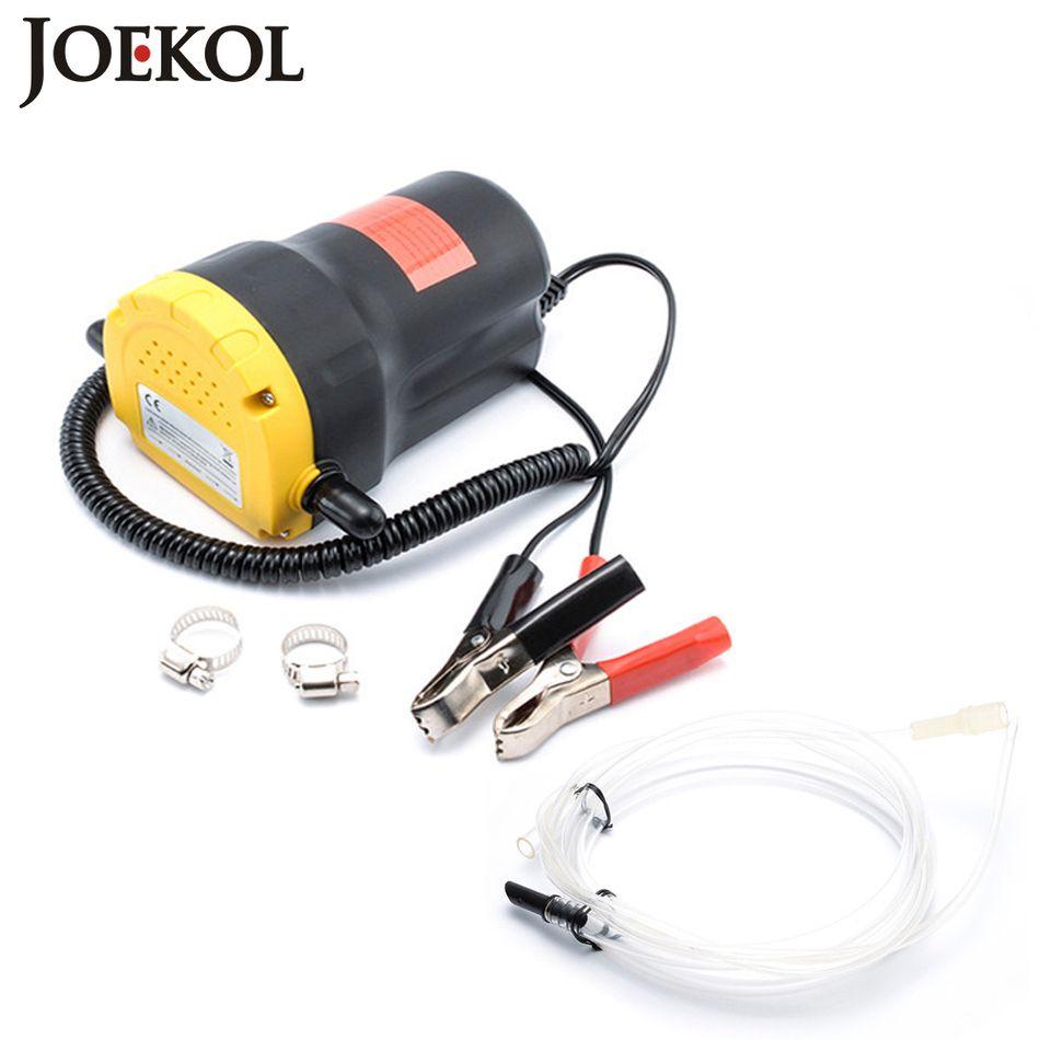 Car Oil Extractor Pump DC 12V/24V Fuel Transfer Pump Car Motorbike Diesel Fluid Scavenge Oil Liquid Exchange Transfer Oil Pump
