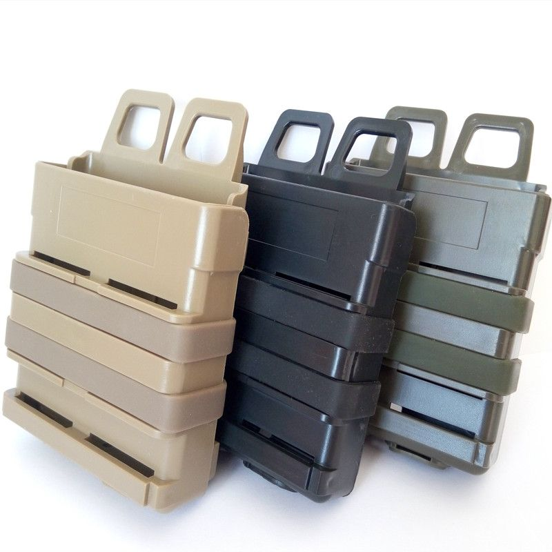 Tactical Heavy 7.62 Magazine Pouch Bag Fast Mag FOR M4 MAG Pouch Heavy Black Tan OD (green)