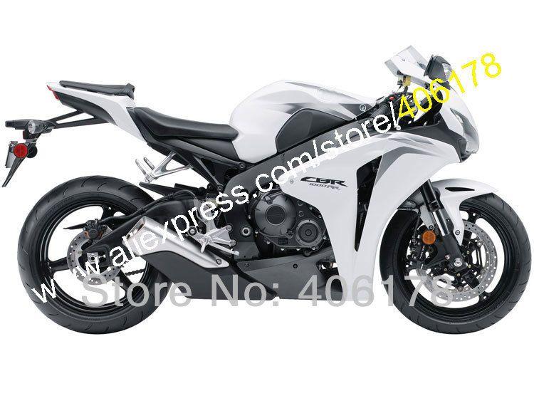 Heiße Verkäufe, für HONDA 08 09 10 11 CBR1000RR Angepasst 2008 2009 2010 2011 CBR 1000RR Weiß schwarz Verkleidung Kit (Injection molding)