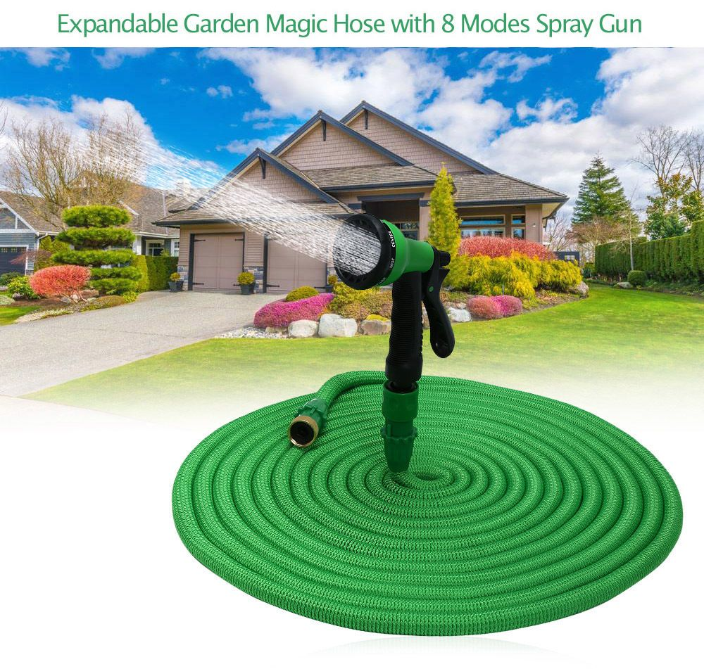 Original High Quality 25FT-100FT Garden Hose Expandable Magic Flexible Water Hose Plastic Hoses Pipe With Spray Gun To Watering