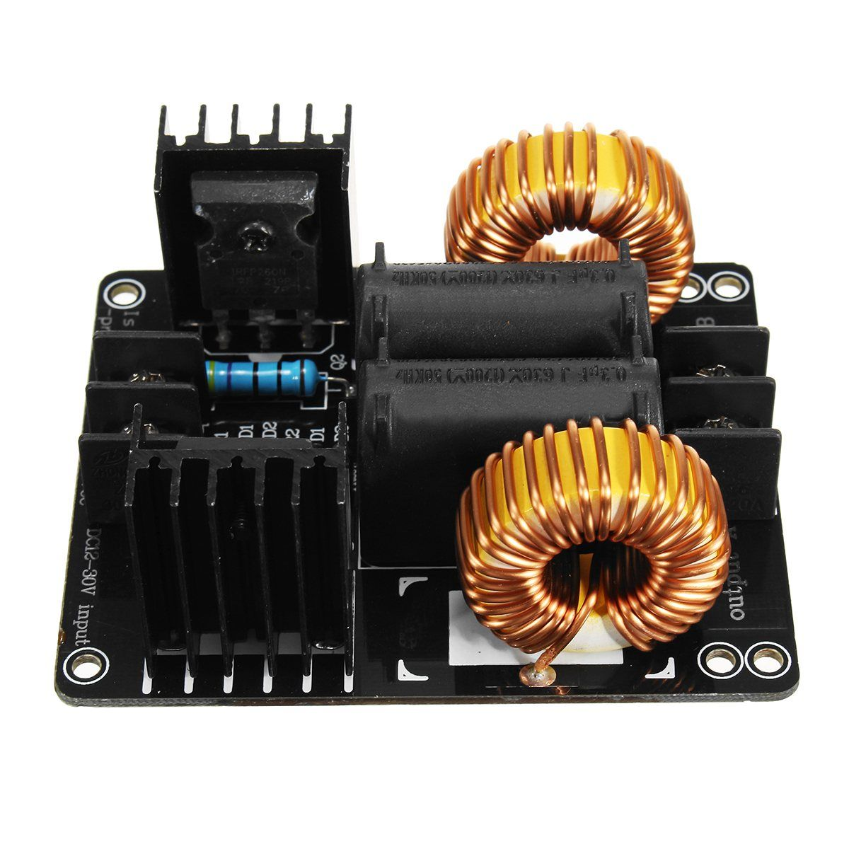 1PC 1000W 20A Low Voltage Induction Heating Coil Module Flyback Driver Electronic Components Heater