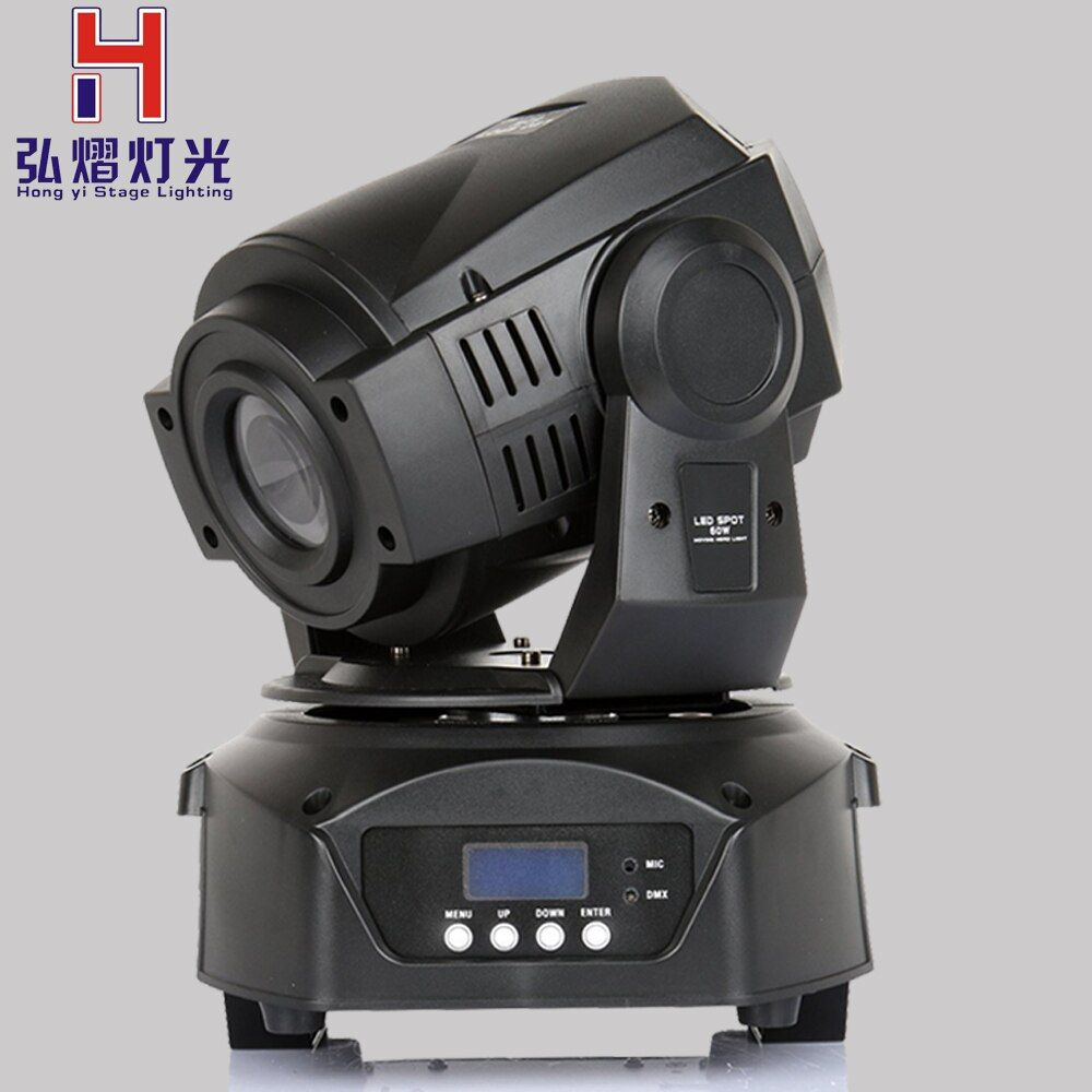 (1pieces/lot) 2016 HOT 90w led moving head gobos spot led mini effect light moving head 90w Led Gobo 3Facet Prism Effect