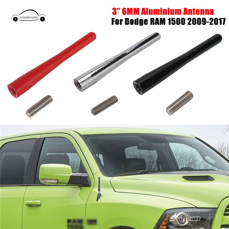KOLEROADER Car Roof Radio Antenna FM Antena Mast For Dodge RAM 1500 Trucks 2009-2017 3