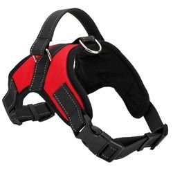 Adjustable Big Dog Harness Collar for Large Medium Small Dog Harnesses Vest Husky Dogs Supplies