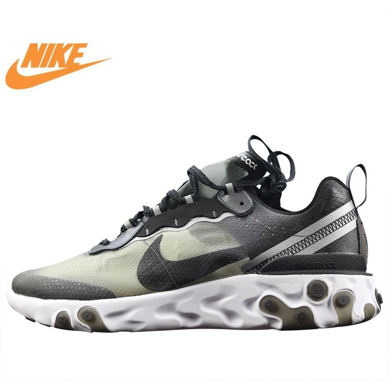 Nike Epic React Element 87 Undercover Men's Running Shoes, High Quality New Sports Shoes Breathable Shock Absorption AQ1090 001