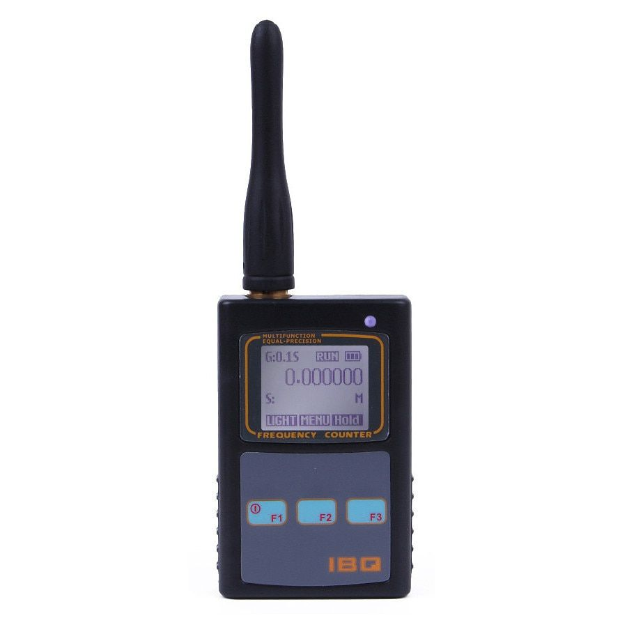 Portable Frequency Counter Scanner Meter 10Hz-2.6GHz for Baofeng Yaesu for Kenwood radio scanner Portable Frequency Meter IBQ102