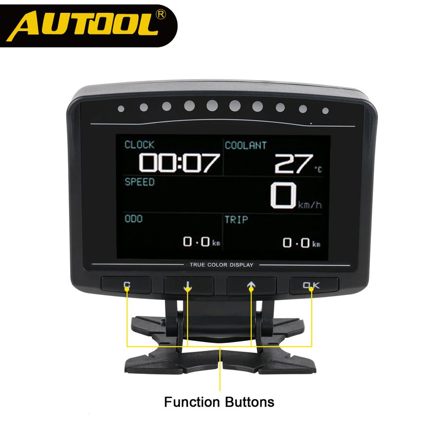 AUTOOL X50 PRO OBD II HUD Head Up Display Digital Car Computer Auto ECU Film Gauge Speed Meter Electronic Monitor Diagnosis Tool