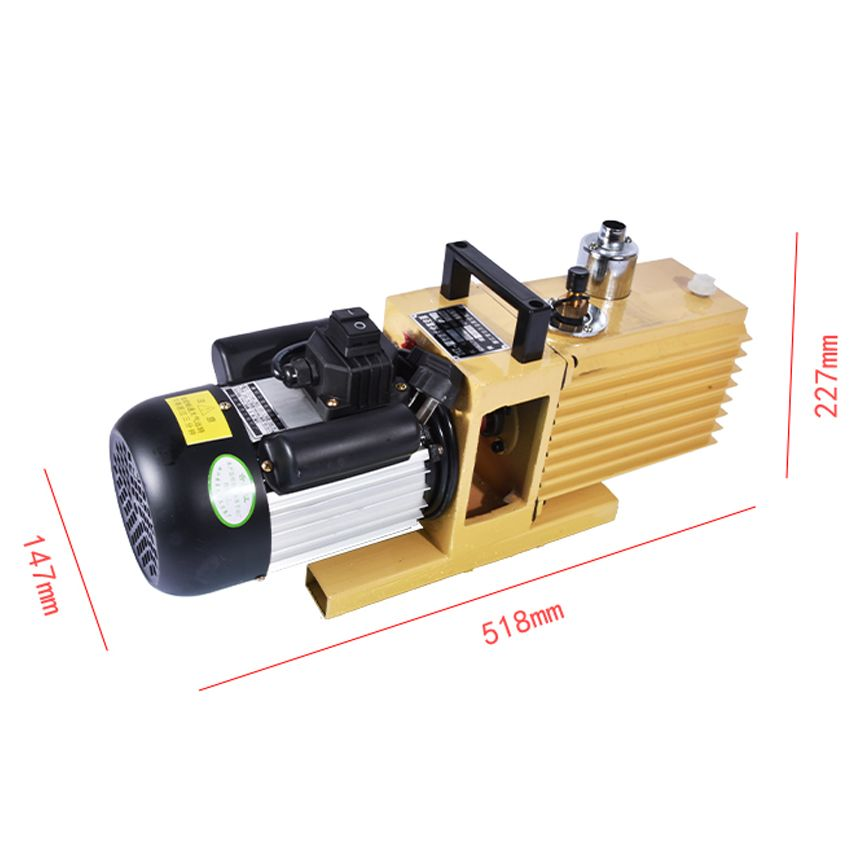 1 STÜCK Drehschieberpumpe 8CFM 2XZ-4 Liter zweistufige Saugpumpe Spezialisiert Für KO TBK LCD OCA Laminiermaschine