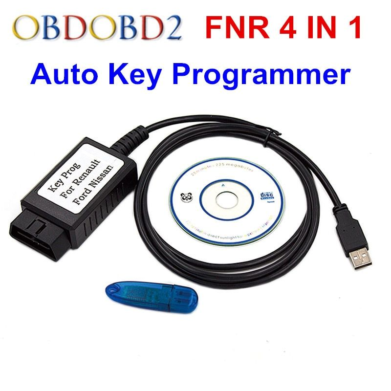 Latest Version FNR Key Prog 4 in 1 For Nissan And Incode Calculator Key Programmer