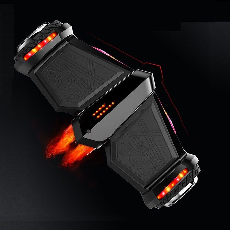 Elektrische selbstausgleich roller Hoverboard Skateboard Spray Dampf Feuer Smart balance roller gyroscooter Bluetooth lautsprecher bord