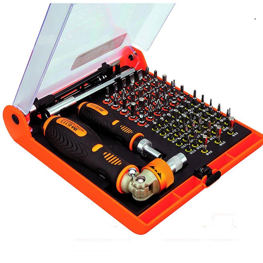 Jakemy JM-6113 multitool Ménage tournevis à cliquet ensemble téléphone mobile outil de réparation et l'ordinateur Portable et l'ordinateur et des outils Électroniques
