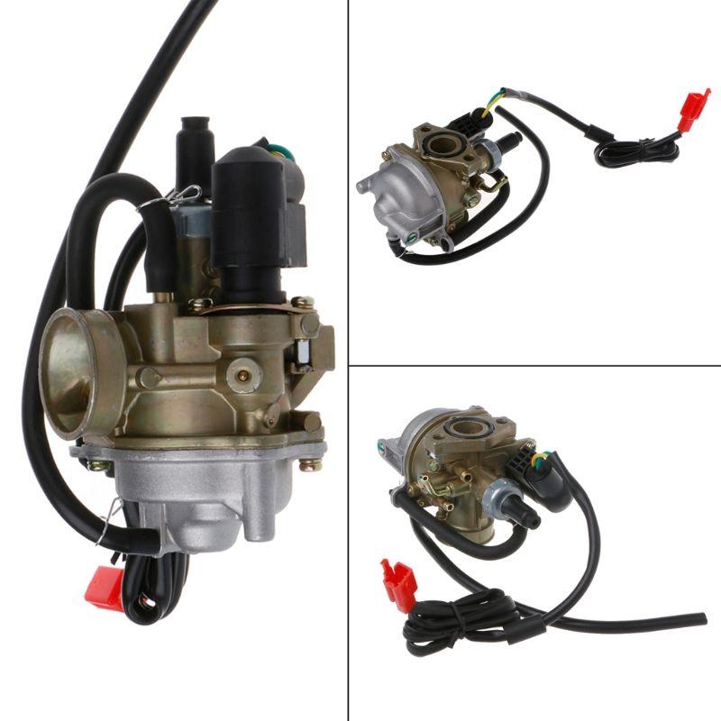 Free delivery 19mm Carb Carburetor For Honda 2 Stroke 50cc Dio 50 18 27 28 SA50 SK50 SYM DD50 SP ZX34 35 Kymco Scooter