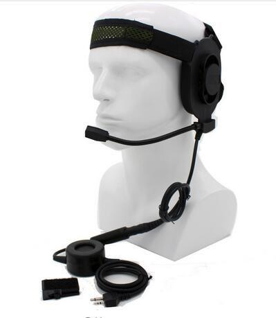 Tactical Bowman Elite II Radio Headset Earpiece waterproof PTT For Midland 2 Pin Walkie Talkie G6 G7 GXT550 GXT650 LXT80 LXT