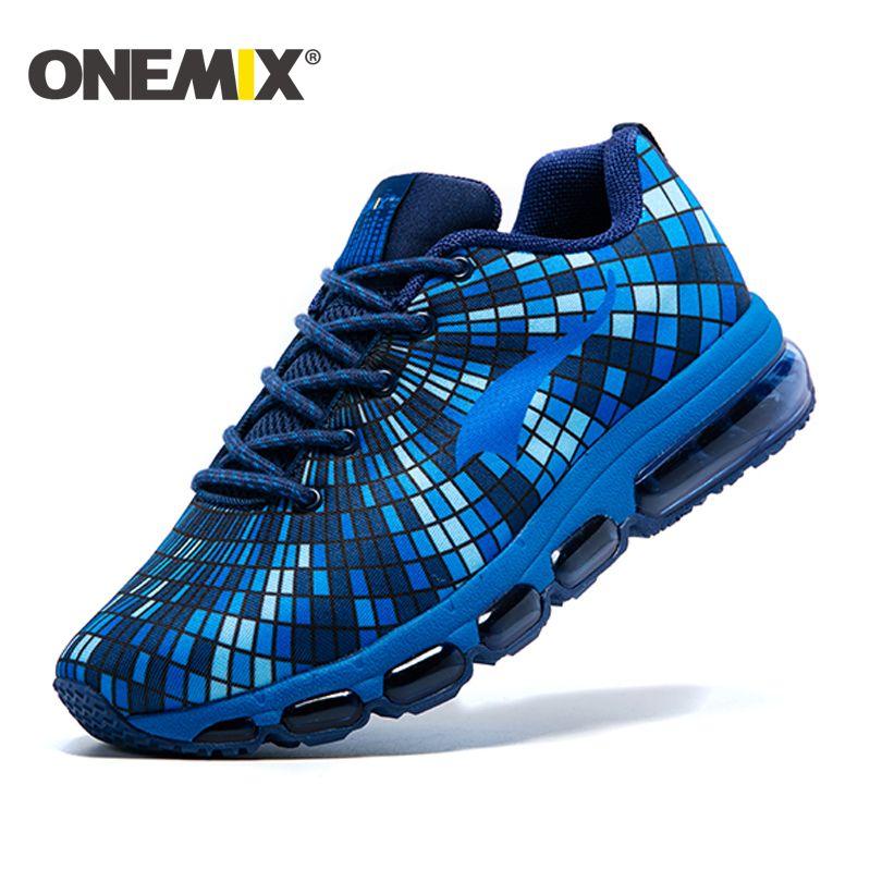Onemix 2017 Подушка тапки оригинальный Zapatos de Hombre мужской спортивной уличная спортивная обувь мужские кроссовки размер 39-46
