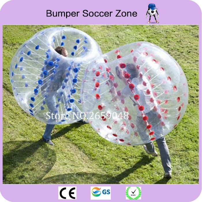 Free Shipping 1.5m Inflatable Bubble Soccer Ball Bumper Bubble Ball Zorb Ball Bubble Football