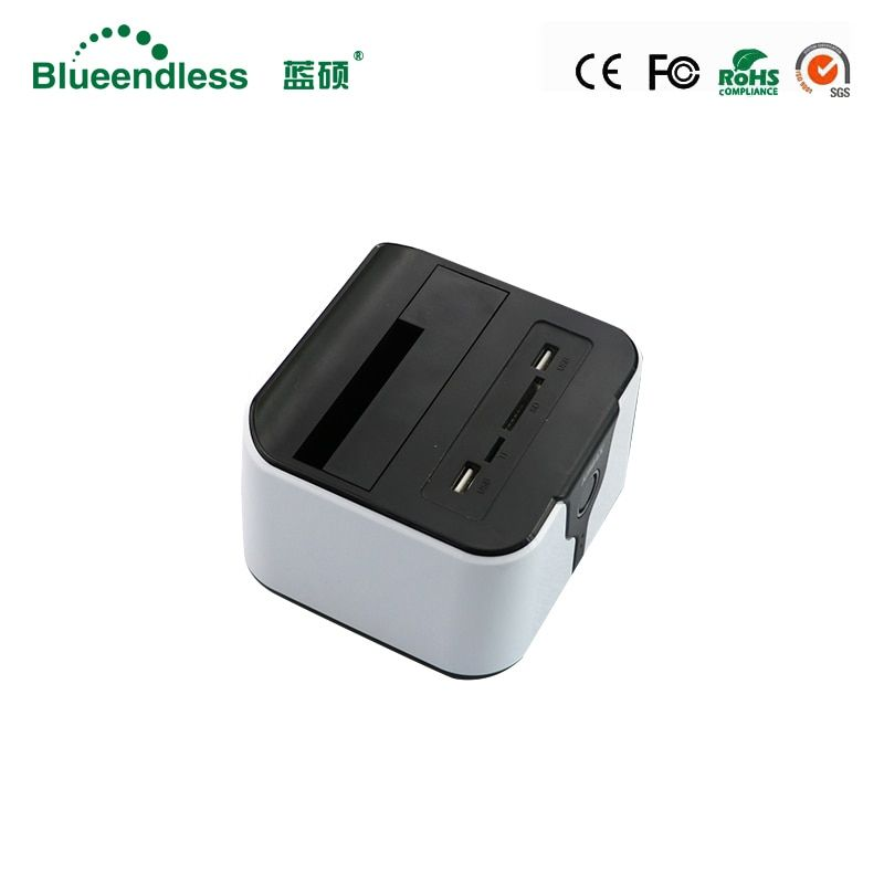 Hot Sale New plastic hdd box 3.5 SATA USB3.0 for 6TB wifi hdd box wireless router hdd docking station hdd usb box free shipping