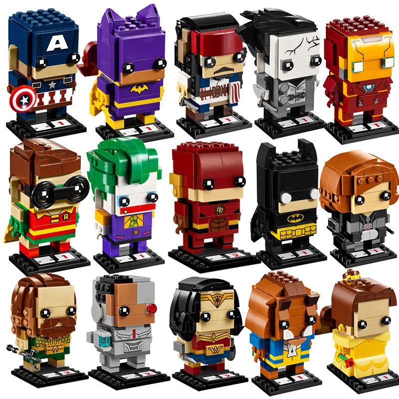 NEW brickheadz avengers Infinity War Marvels super heroes brick heads headz building blocks Compatible legoed kids toys set gift