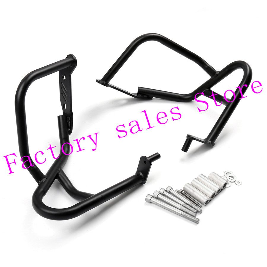 For BMW R1200R R 1200R 1200 R 2007-2014 black Crash Protection Bars Engine Guard Protective Frame 2008 2009 2011 2010 2013