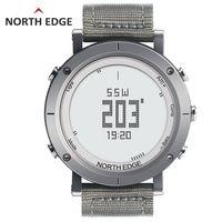 Relojes digitales NORTHEDGE reloj deportivo para hombre reloj de pesca tiempo altímetro barómetro termómetro brújula altitud horas de senderismo
