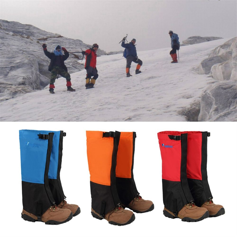 1 Pair Outdoor Waterproof Durable Mountaineering Snow Cover Foot Sleeve free shipping