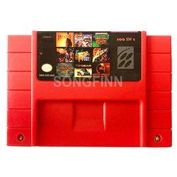 Fichier de sauvegarde 100 en 1 avec de L'argile Combattant Hagane Combat Final de Démon crête Castlevania 4 Megaman X Sauvage Pistolet pour 16 peu NTSC Console