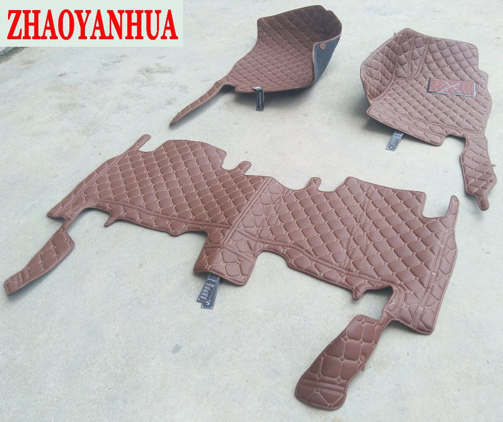 ZHAOYANHUA car floor mats for Mercedes Benz M ML GLE class W164 W166 250 300 320 350 400 450 500 550 rugs car styling carpet