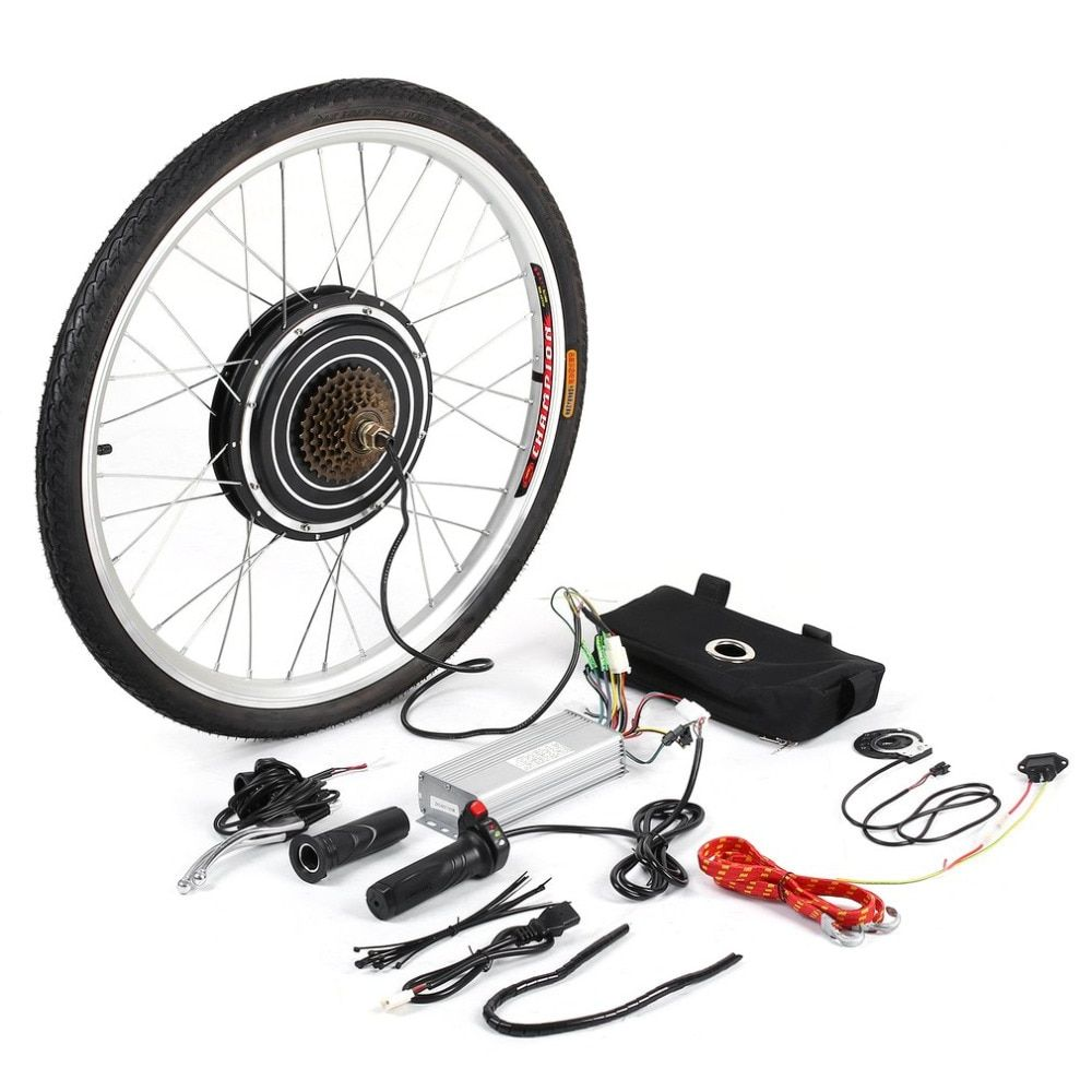 New 1000W 48V Professional Electric Bicycles E-Bike 26inch Rear Wheel Conversion Kit Cycling Brushless Motor Best Replacement