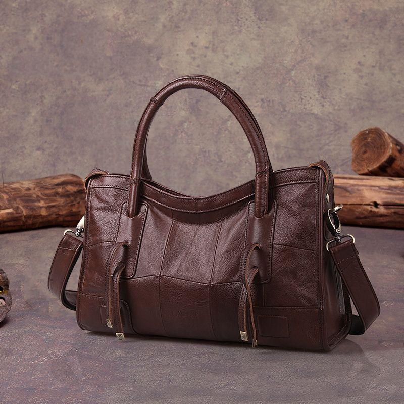 Cobbler Legend Original Genuine Leather Women Shoulder Bags 2018 New Leisure Trend Ladies Crossbody Bag For Women's Handbag