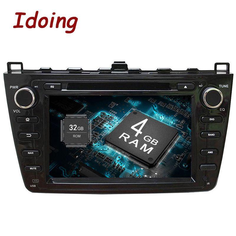 Idoing 2Din 4g + 32g Android8.0 Auto DVD Multimedia Video Player Für Mazda 6/Ruiyi/Ultra GPS Navigation 8 Core Stereo Radio 1080 p