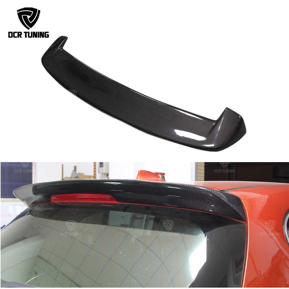 Pour BMW F20 carbone Spoiler 2012 2013-2018 116i 118i 125i F20 F21 becquet Design 3D style fibre de carbone aileron arrière aile en carbone