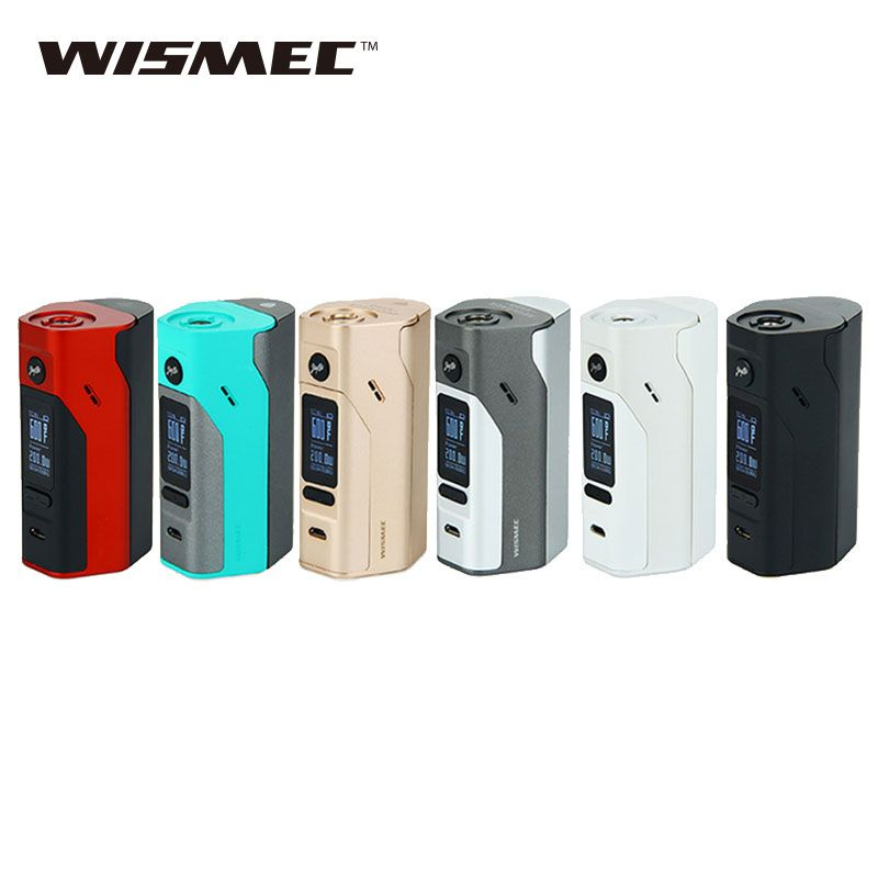Original Wismec Reuleaux RX2/3 TC 150W 200W Electronic Cigarette Box Mod without 18650 battery or e-cig evaporator VS RX200S Mod