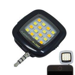 Teléfono Inteligente flash iluminación, luz de flash LED selfie lámpara linterna teléfono móvil Cámara viltrox speedlite Yongnuo noche