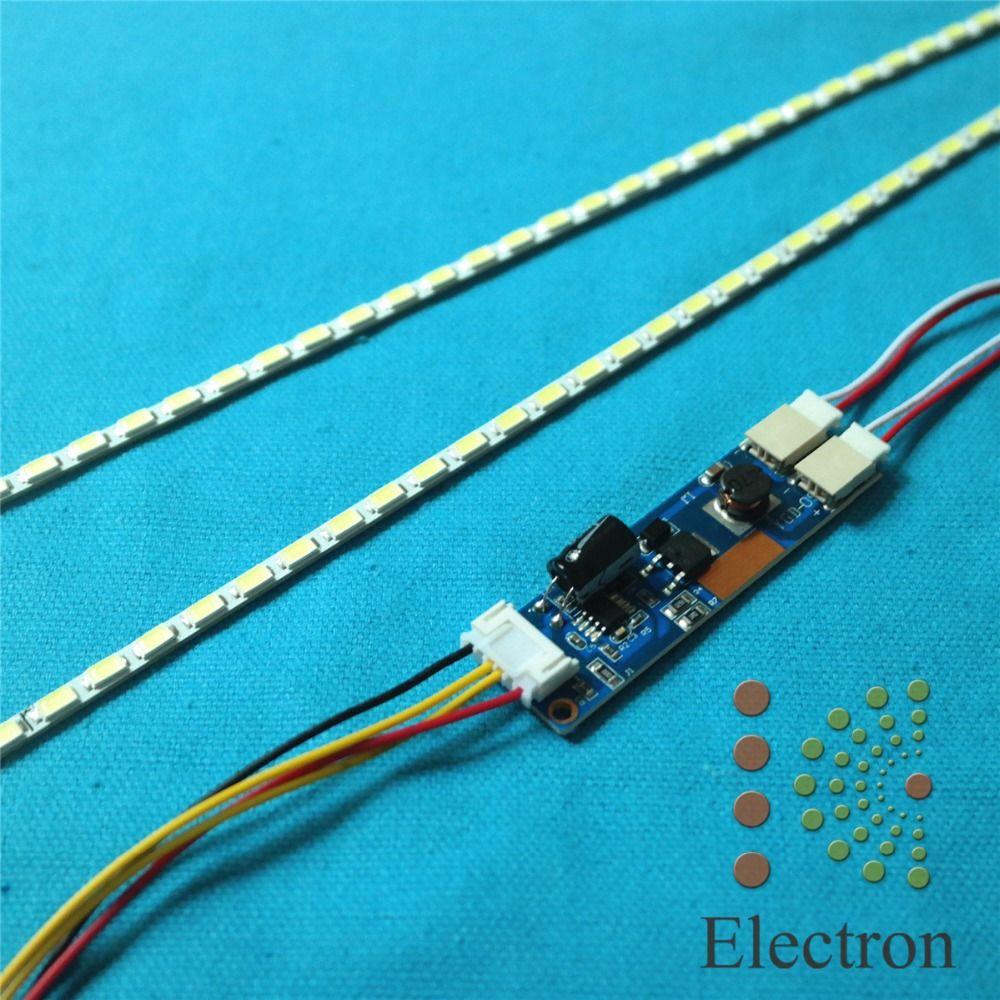Lámparas de luz de Fondo LED kit de Actualización Luz LED Ajustable Para 15-24 pulgadas LCD Monitor Universal Resalte Dimable