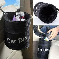 arrival Wastebasket Trash Can Litter Container Car Auto Garbage Bin/Bag Waste Bins Household Cleaning Tools Accessories