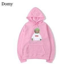 Fashion Cotton Suprem Hoodies Sweatshirts Men Women Casual Solid Spoof Long Sleeve Hoody Parody Tops