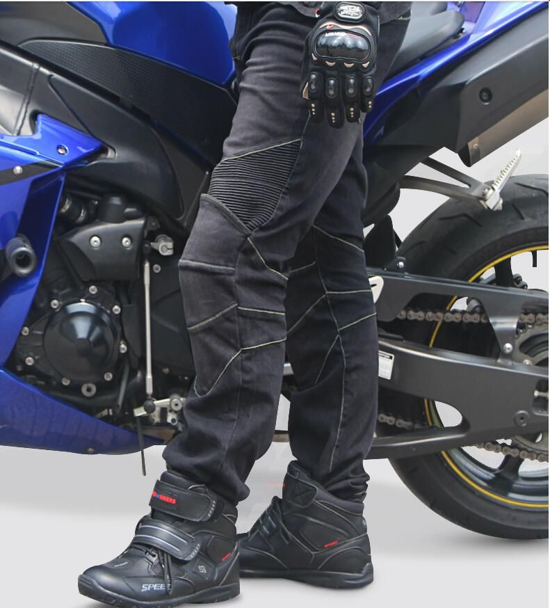 Riding Tribe Motorcycle Pants men's and women's elastis jeans Racing jeans protective pants High quality breathable pants
