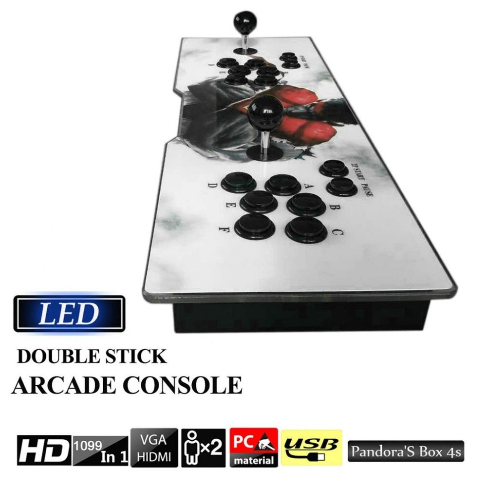 Professional Multi-game 1099 Video Games in 1 Family Box Home Arcade Console Vintage Gamepad with Dual Joystick