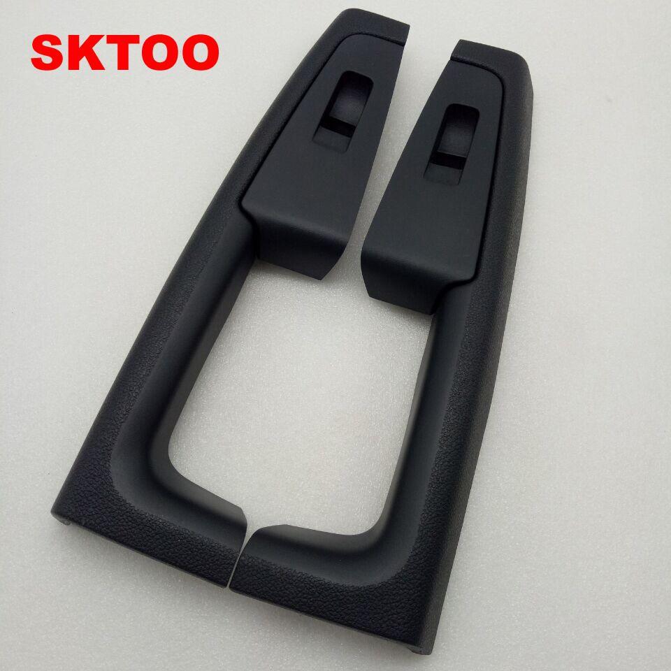 SKTOO pour Skoda superbe accoudoir de porte boitier interrupteur poignée de porte intérieure arrière noir