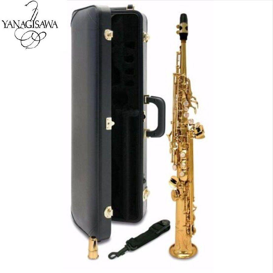 New Japan YANAGISAWA S901 B flat Soprano saxophone High Quality musical instruments YANAGISAWA Soprano professional shipping