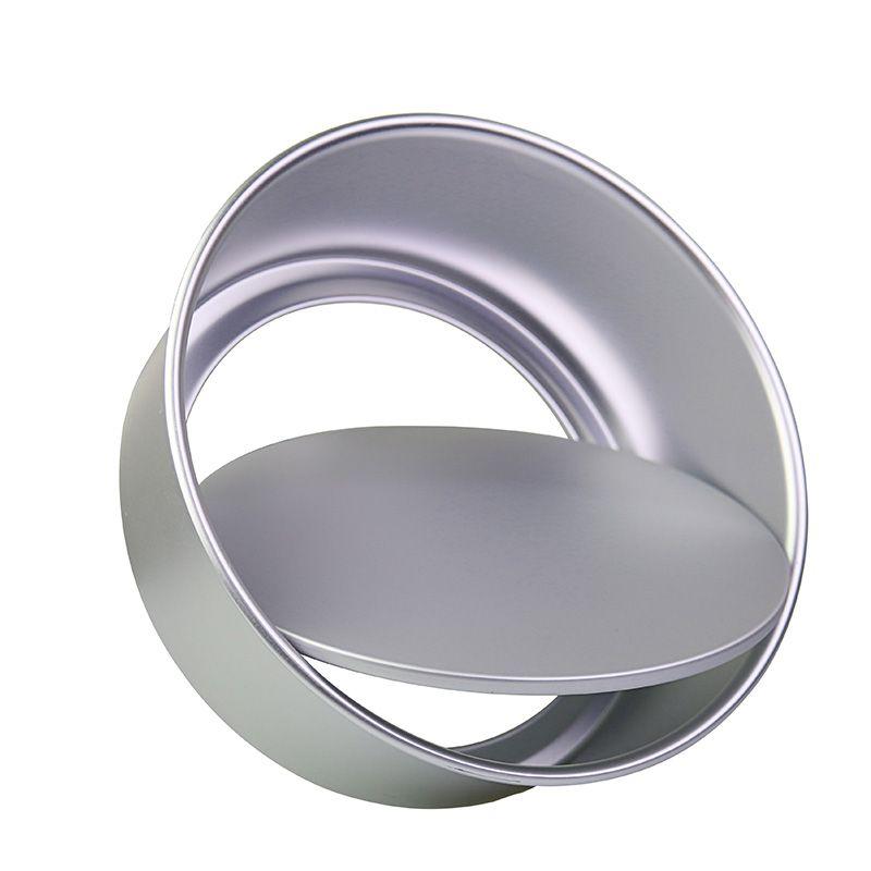 1 stück, Runde Aluminiumlegierung 2/4/5/6/8/10 Kuchen Formen Mit abnehmbare Bottom Anode Oberfläche Hohe Qualität Backenwerkzeuge