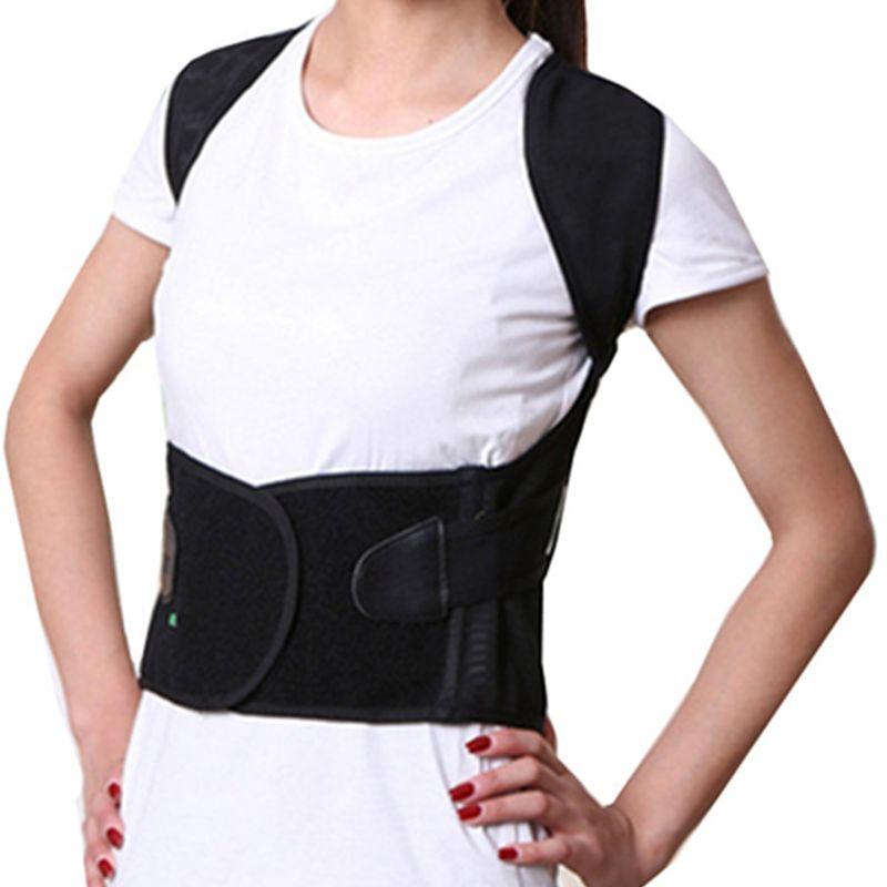 Tcare unisexe dos épaule Posture correcteur soutien redresser orthèse ceinture orthopédique réglable soins de santé