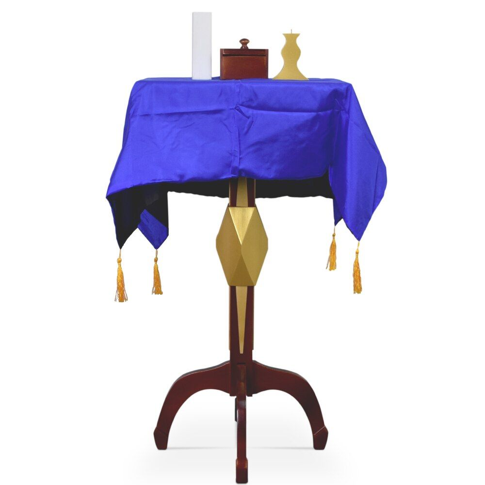 Mult-Function Square Floating Table With Anti Gravity Box Flower Pot Candlestick Magic Tricks Magician Stage Gimmick Illusion