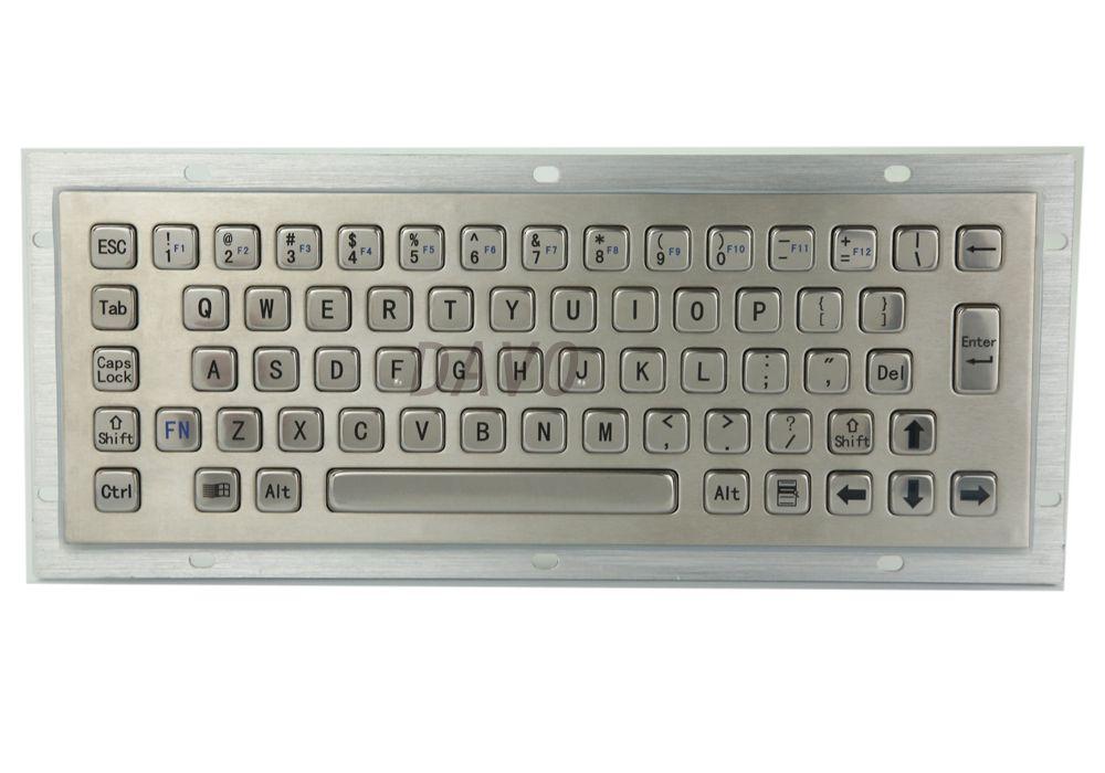 Mini clavier métallique industriel de bâti de panneau anti-vandalisme d'acier inoxydable de clavier métallique de kiosque